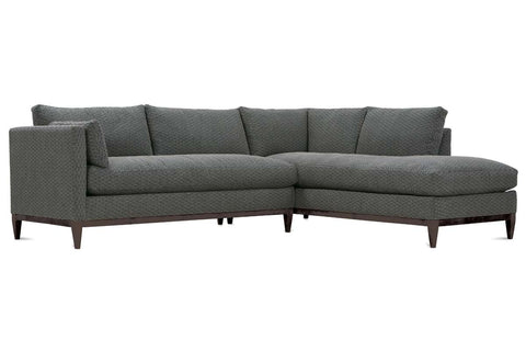 "Georgia ""Designer Style"" Two Piece Contemporary Sectional Sofa"