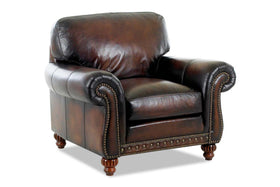 Gerard Traditional Leather Chair