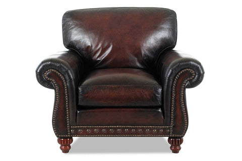 Gerard Traditional Old World Inspired Leather Sofa Set