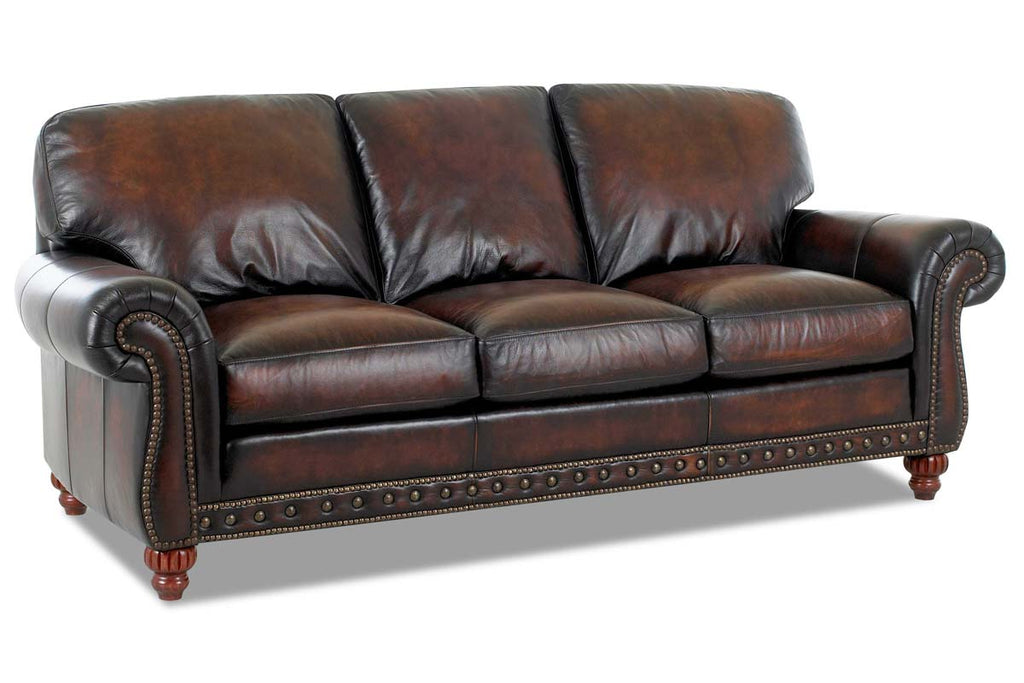 Super Gerard Traditional Old World Inspired Leather Sofa Set Onthecornerstone Fun Painted Chair Ideas Images Onthecornerstoneorg