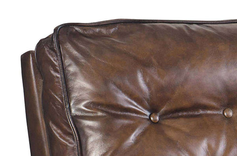"Gibbons ""Quick Ship"" Button Pillow Back Leather Recliner (OUT OF STOCK UNTIL 3/30/20)"