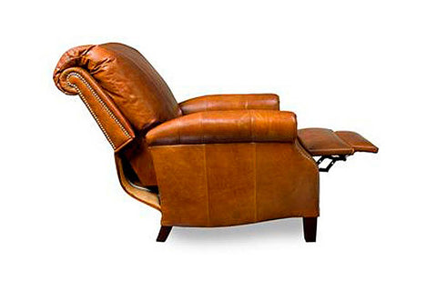 Hanover Traditional Leather Recliner With Nailhead trim