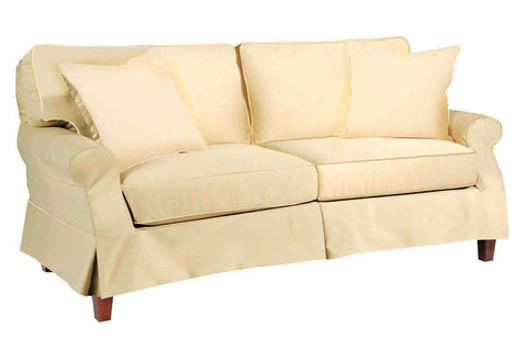 Holly 76 Inch Slipcover Sofa