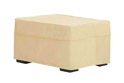 Isabel Slipcover Ottoman