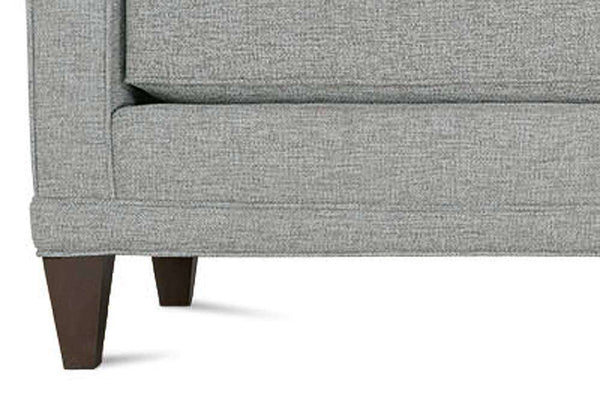 "Janice I ""Designer Style"" Single Bench Seat Contemporary Fabric Upholstered Collection"