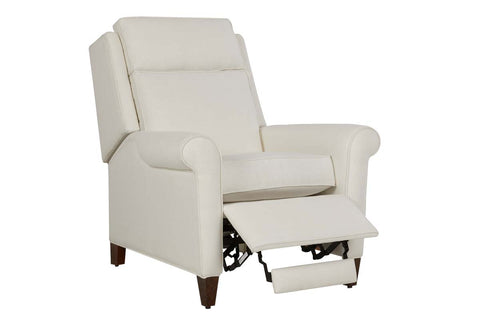 "Josie 3-Way ""Comfort Control Plus"" Power Rolled Arm Fabric Recliner"