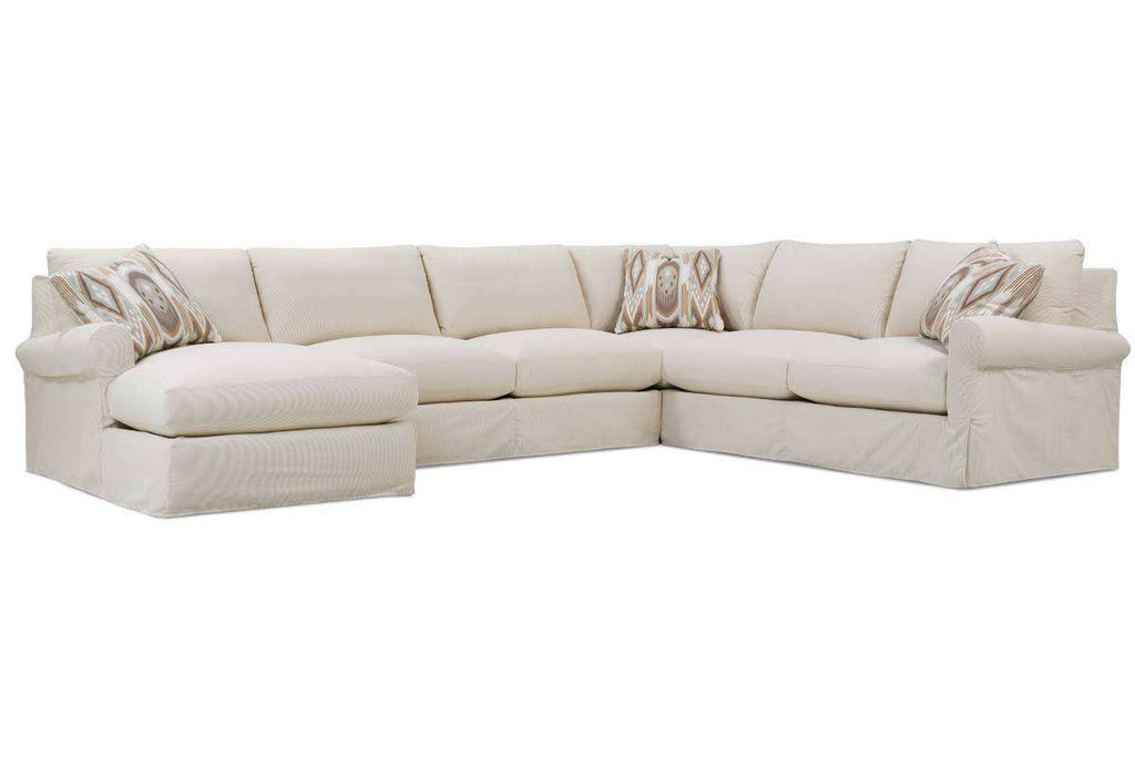 Slipcovered Sectional Sofas - Slipcovered Sectionals Furniture