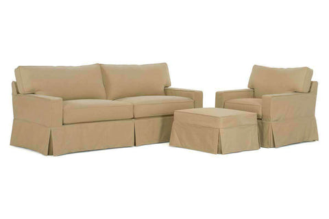 "Slipcovered Furniture Kendall ""Grand Scale"" Slipcover Sofa Set"