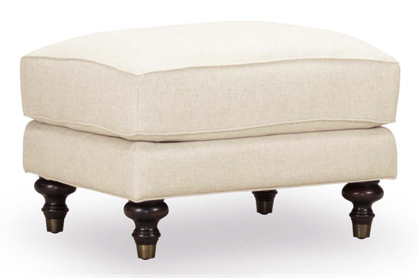 "Kerrie ""Quick Ship"" Fabric Footstool Ottoman-OUT OF STOCK UNTIL 7/30/2021"