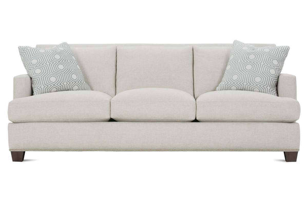 "Krista III 92 Inch ""Designer Style"" Grand Scale Three Cushion Sofa"