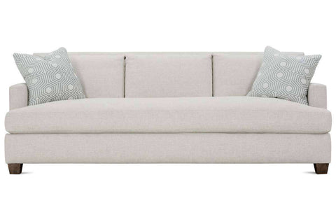 "Krista I 92 Inch ""Designer Style"" Grand Scale Single Bench Seat Sofa"