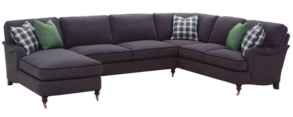 Strange Kristen Ready To Ship 2 Piece Chaise Loveseat Sectional Gmtry Best Dining Table And Chair Ideas Images Gmtryco