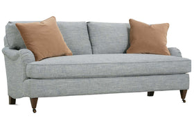Kristen I 86 Inch English Arm Single Bench Seat Sofa