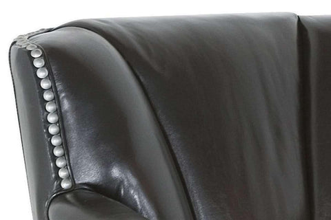 Leather Accent Chairs And Chaise Donald Low Tight Back Leather Club Arm Chair