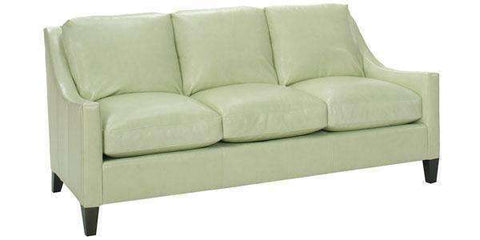 "Leather Furniture Allen ""Designer Style"" Modern Apartment Sofa"