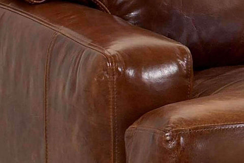 Leather Furniture Dempsey Leather Loveseat