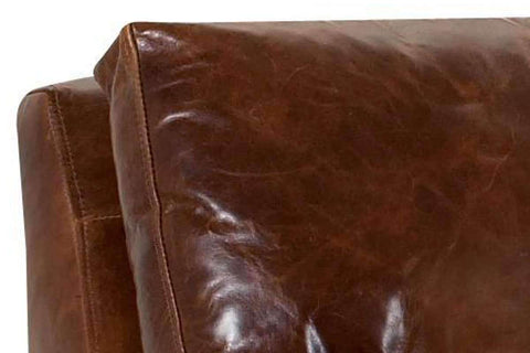 Leather Furniture Dempsey Urban Three Seat Leather Sofa