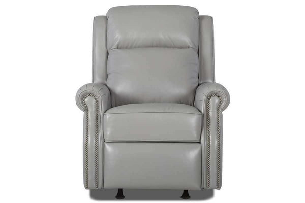 "Leather Furniture Hobart 3-Way Electric Power Recliner With ""Comfort Control Plus"""