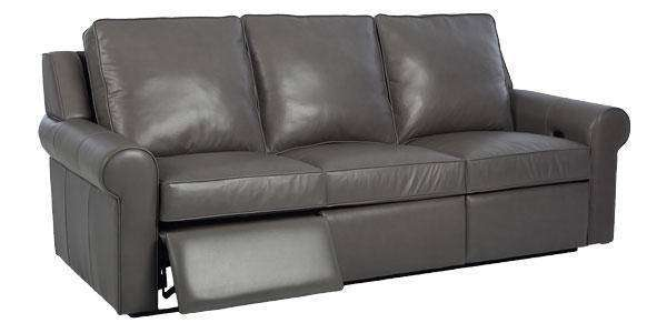 Jennings Leather Reclining Sofa