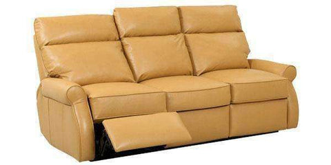 Leather Furniture Kirby Dual Power Assist Leather Recliner Sofa