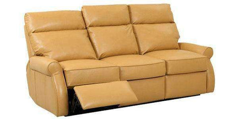 Leather Furniture Kirby Power Assist Leather Dual Reclining Loveseat (2 Cushion)