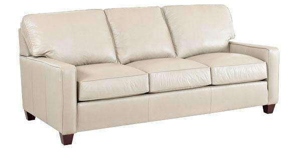 Leather Furniture Mills Modern Leather Sofa