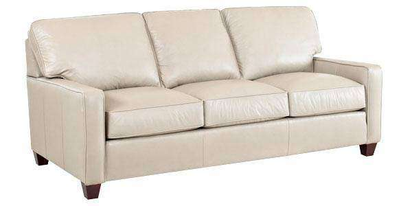 Leather Furniture Mills Modern Queen Sleeper Sofa