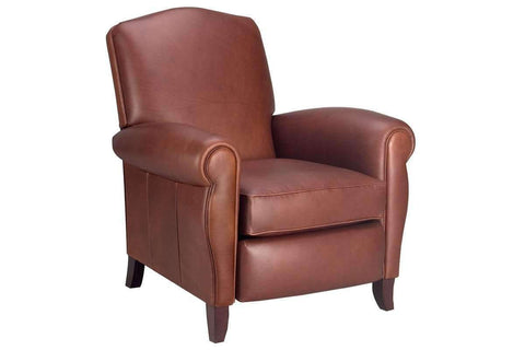 "Leather Furniture Newport ""Designer Style"" Leather Recliner"