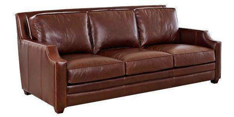 "Leather Furniture Newtown ""Grand Scale"" Leather Sofa"