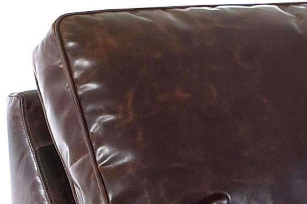 Leather Furniture Oswald Queen Leather Sleeper Sofa
