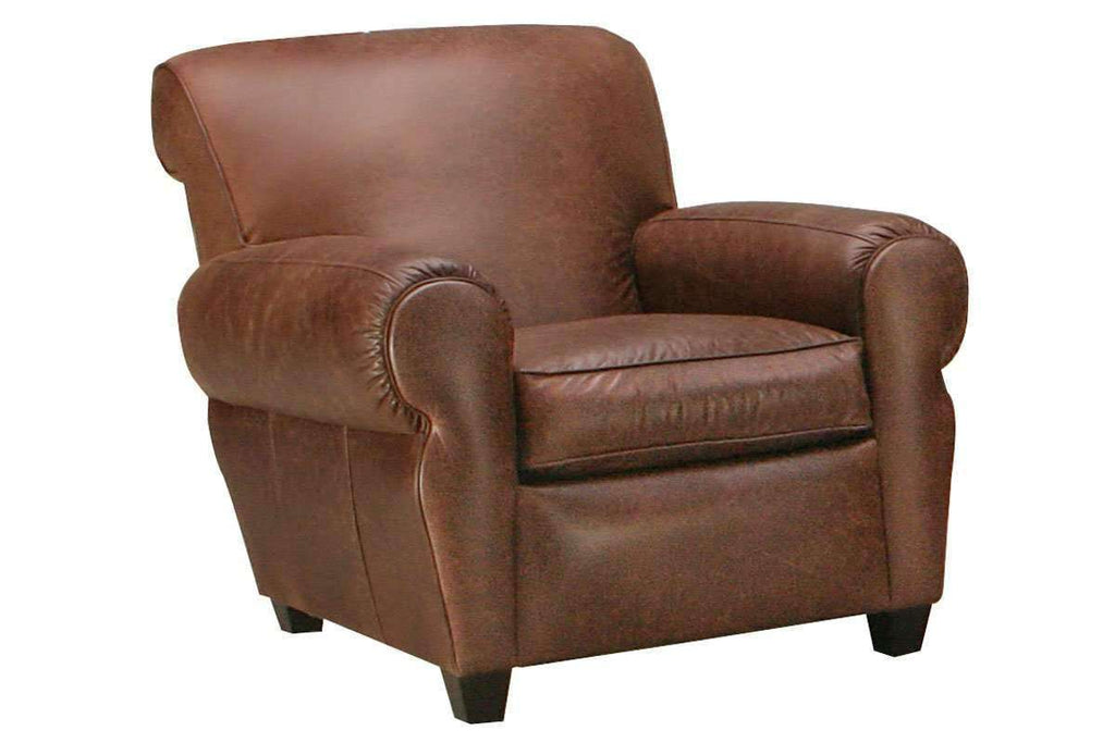 Charmant Leather Furniture Parker Leather Club Chair Like Manhattan ...