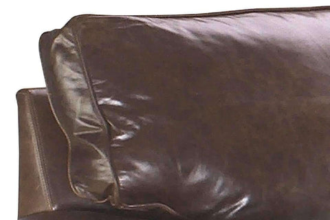 "Leather Furniture Rockefeller ""Designer Style"" Traditional Leather Sofa Set"