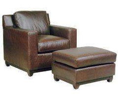 Ronald Modern Leather Club Chair