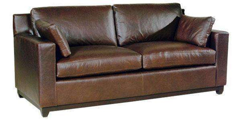 Leather Furniture Ronald Modern Small Leather Sofa