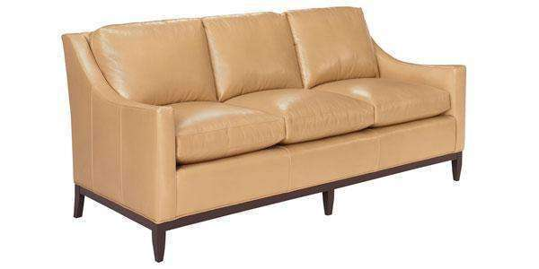Seth Leather Studio Sofa