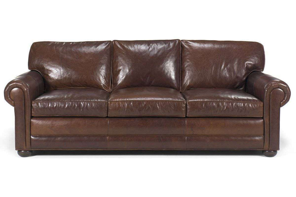 ... Leather Furniture Sheffield Deep Seated Select A Size Extra Large Leather  Sofa ...