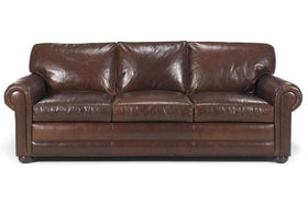 Sheffield Deep Seated Select-A-Size Extra Large Leather Sofa