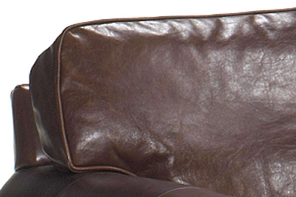 Sheffield Leather Two Arm Chaise Lounge Chair Club Furniture