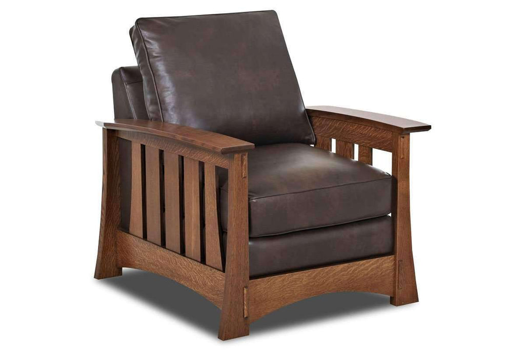 Phenomenal Stockton Mission Craftsman Style Leather Seating Collection Short Links Chair Design For Home Short Linksinfo