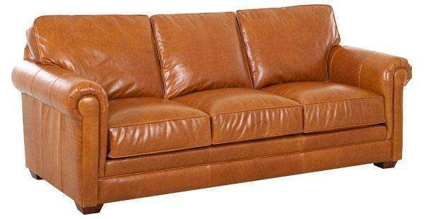 Wayne Traditional Grand Scale Leather Sofa