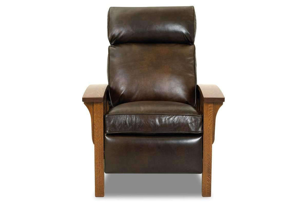 Wondrous Aldrich Mission Leather Recliner Chair Hand Crafted Machost Co Dining Chair Design Ideas Machostcouk