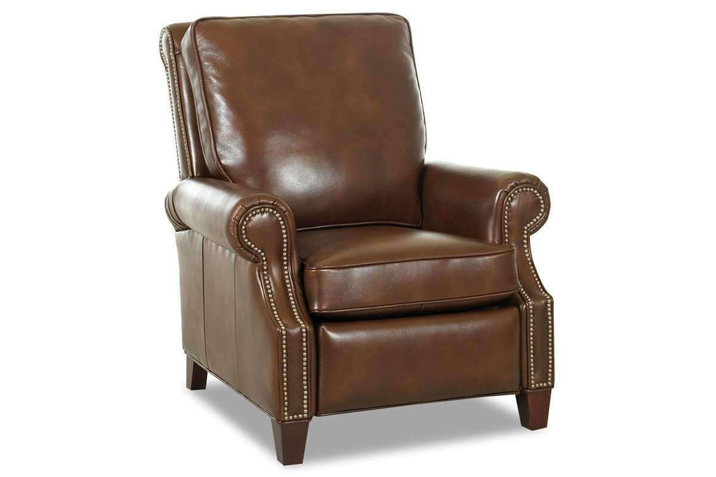 Peachy Bronson Pillow Back Leather Reclining Armchair Gmtry Best Dining Table And Chair Ideas Images Gmtryco