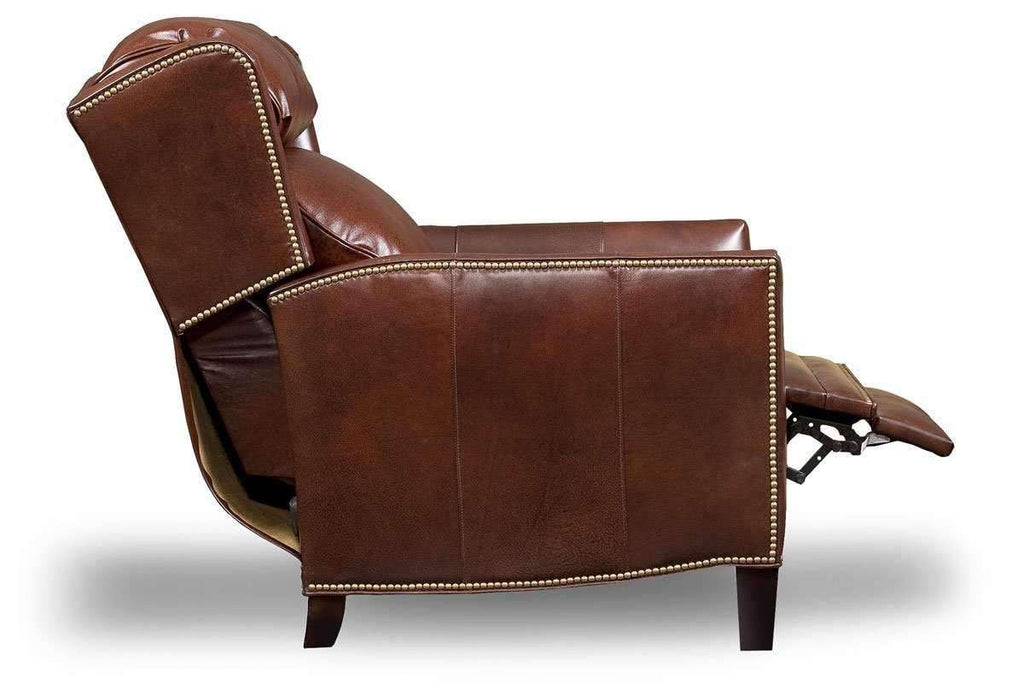 Awe Inspiring Buckley Bustle Back Leather Recliner Frankydiablos Diy Chair Ideas Frankydiabloscom