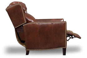 Buckley Bustle Back Leather Recliner