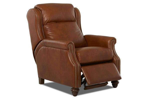 "Leather Recliner Chad 3 Way ""Comfort Control Plus"" Power Recliner"
