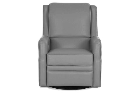 Leather Recliner Dwayne 360 Degree Swivel Glider Recliner