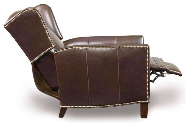 Leather Recliner Harris Tight Back Wingback Leather Recliner