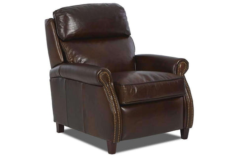 Leather Recliner Lionel Popup Headrest Recliner