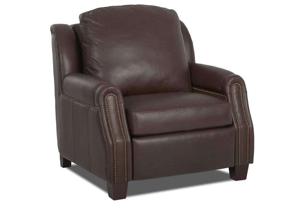 Leather Recliner Marcus Leather Incliner Recliner