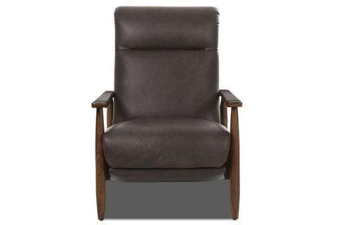"Peter ""Ready To Ship"" Mid-Century Modern Leather Recliner"